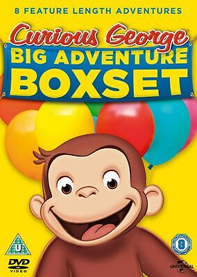 Curious George: Big Adventure Boxset (Box Set) [DVD]