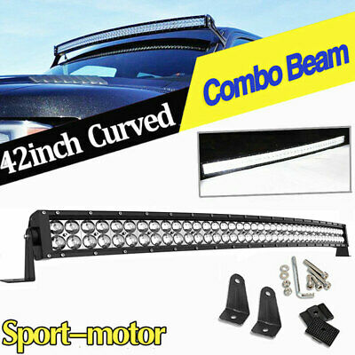 2X 7inch 51W Off Road Led Work Light Bull Bar Pods Jeep Truck Boat 4x4 ATV Round