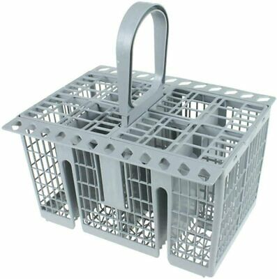 8 Compartment Cutlery Basket + Handle for ARISTON Dishwasher Grey