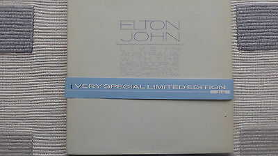 Elton John Live In Australia Limited Edition No 2666 (Near Mint) CD Box