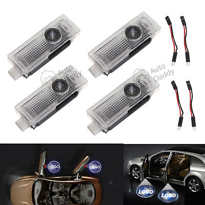 4X LED Car Door Step Welcome Projector Logo Shadow For BMW E60 E61 F10 F07 M5