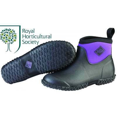 The Muck Boot Company Womens Muckster II Ankle Black/Purple