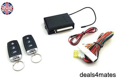 Universal Remote Central Locking Upgrade Kit  Keyless Entry LED indicator 2 Fobs