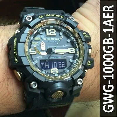 casio mudmaster gwg 1000gb 1aer g shock uhr mit funk. Black Bedroom Furniture Sets. Home Design Ideas