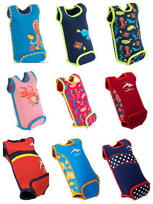 Konfidence Baby Warma Mini Swim Tots Childs Wetsuit Babywarma Wrap ALL DESIGNS