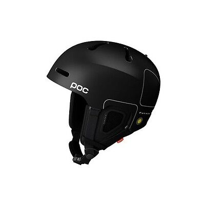 POC Fornix Snow Helmet Gloss Black Medium Large M-L 55cm-58cm