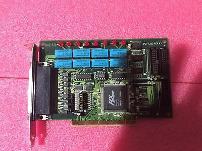 NuDAQ PCI-7250 PCI Card REV.A3 8 Channels Relay & Isolated Digital Input Cards