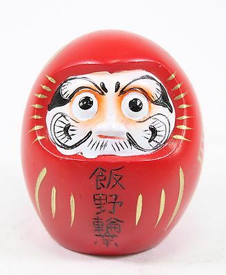 Filled Eyes Red Wishing Daruma Doll Good Luck Fortune Business Gift
