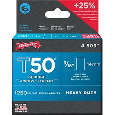 Staples Fit For Arrow T50 Tacwise Draper 13951 Stanley Rapid Type 140 Stapler