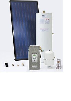 Solar Thermal Hot Water Self Engineering Kits-2 panels 1 tank &accessories