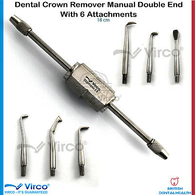 Crown & Bridge Removal Retractor Set Works On All Temporary Crown & Bridge Ortho