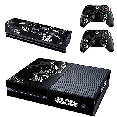Star Wars Vinyl Decal Skin Stickers for Xbox One Console & 2 Controller & Kinect