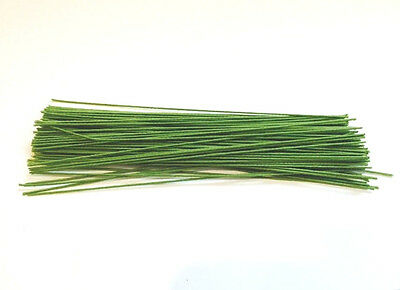 "Floral Stem CLOTH wire , green cloth Wire, 6"" 24 Gauge **#100***"