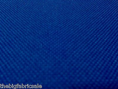 Tough Waterproof Blue Aquatuf Canvas Fabric Material Awning Cover Cordura Type !