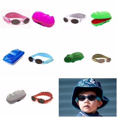 Baby Banz Case and Sunglasses Crocodile Hippo UV Polarised 0-2 Years