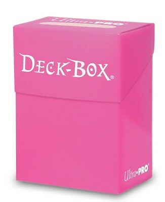 Ultra Pro Deck Box Bright Pink - Sealed - Brand New - AUS