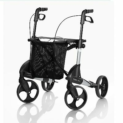 Topro Troja classic lightweight walker rollator choice of colours, 7 yr warranty