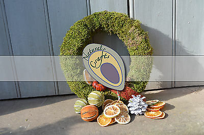 Dried Moss Wreath (christmas wreath, multiple sizes)