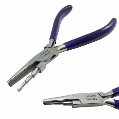 """Mazbot® 5.75"""" Wire Looping Pliers 3 STEPS Jewelry Wrapping Beading Large"""