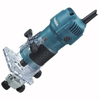 Makita 3709 1/4in 4.0 Amp Fixed Base Laminate Trimmer/Router