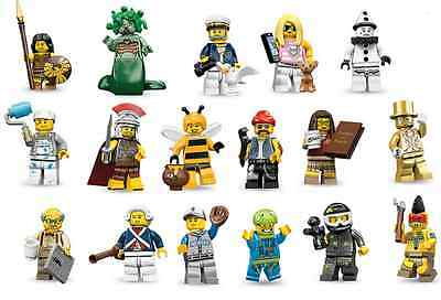 Lego New Series 10 Minifigures All 16 Available You Pick Which Minifigs 71001