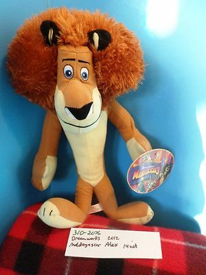 Toy Factory Madagascar Alex the Lion 2012 plush(310-2076)
