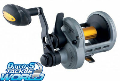 FIN-NOR Lethal 30 II Speed Lever Drag Overhead Fishing Reel BRAND NEW at Otto's