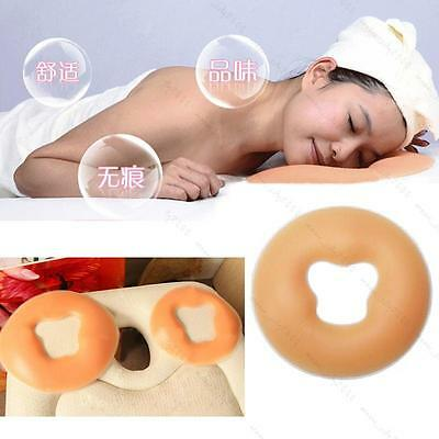 Health & Beauty salon silicone face pillow SPA massage Full face cushion Reuse