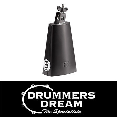 "Brand New Meinl Percussion Cowbell 5 1/4""  Black SL525-BK"