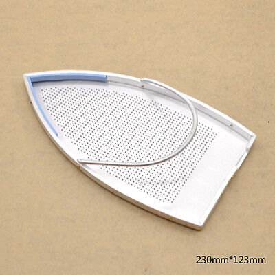 Teflon Aluminum Iron Plate Cover Shoe Industrial Supply 230mm*123mm Silver 1PC