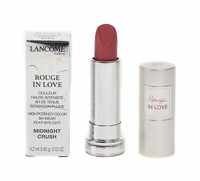 Lancome Rouge In Love High Potency Featherlight Lipstick - 383N Midnight Crush