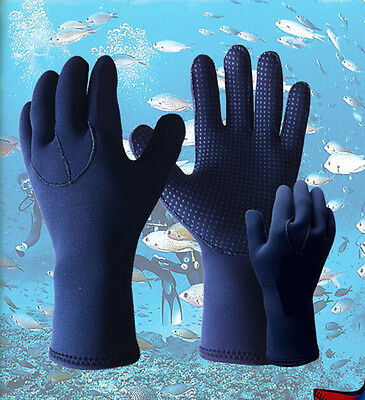 5mm Skid-proof Neoprene Wetsuit Gloves Swimming Diving Surfing Glove Child Adult