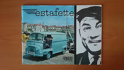 catalogue  publicitaire Renault estafette
