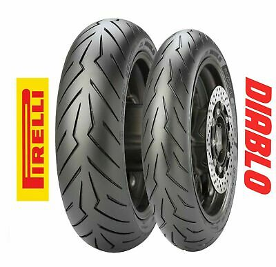 Coppia gomme pneumatici Dunlop GPR-100 120/70 R 15 / 160/60 R 15 T-MAX 500 530