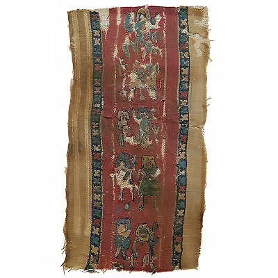 Coptic Framed Textile Panel (from Egypt)  -  0077