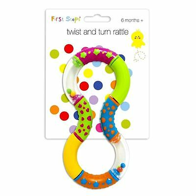 First Steps Twist And Turn Rattle Baby Toy for 6mths+
