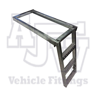 1 x Pull Out Underfloor 3 Rung Step Slide Safety Trailer Truck HGV Access