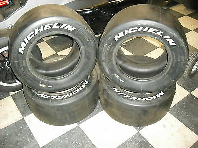 Michelin S210 23/57-13 Racing Slicks Tires Set of 4  NEW OLD STOCK