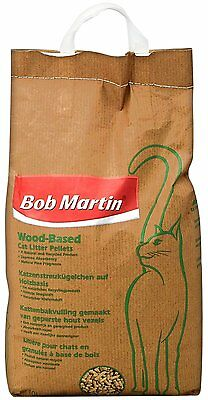 Bob Martin Wood Based Cat Litter Pellets, 10 Liter Natural And Recycled Product