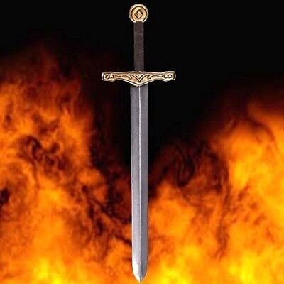 "MEDIEVAL KNIGHT Camelot King Arthur 36"" Long 12oz EXCALIBUR LATEX SWORD LARP New"