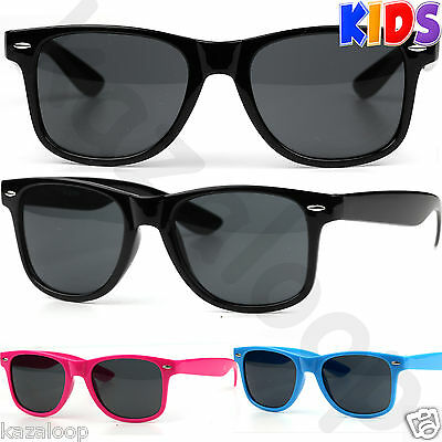 New Kids Children Square  Retro Style Sunglasses Boys Girls UV400 Protection