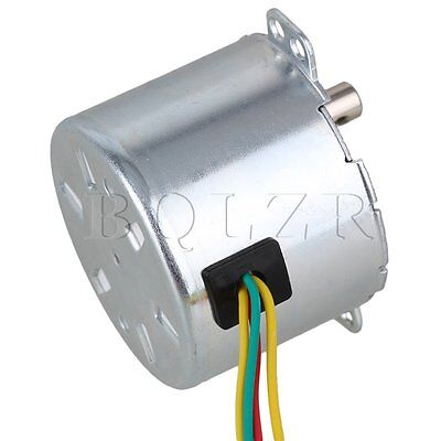 Silver AC220V Low Power Consumption Gear Synchronous Electric Motor 1.5RPM