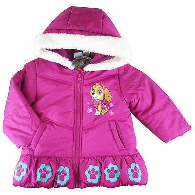 Paw Patrol skye girls winterwarm jacket coat hoodie jackets cloth size 2-5 in AU
