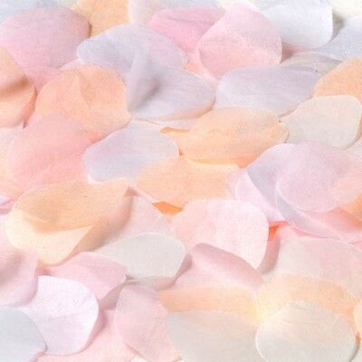 Shaped Rose Petals Wedding Throwing Confetti | Tissue Paper 1-24pk