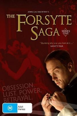 The Forsyte Saga : Season 1 [2 DVD Set] , LIKE NEW, Region 4, FREE Next Day Post