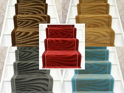 Hall / Stairs Carpet Runner Any Size x 60cm 5 Colours Carpet Runner Stairs  Hall