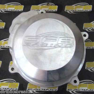 KTM 250 SX (2003-2006) SFB Racing Billet Alloy Ignition Flywheel Cover in GREY