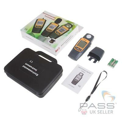 TestSafe TSLM2 Adjustable Digital Luxmeter (Light Meter)