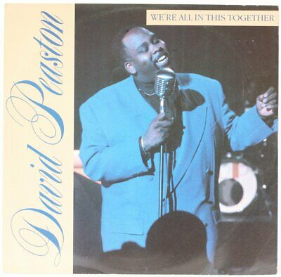 We're All In This Together  David Peaston Vinyl Record