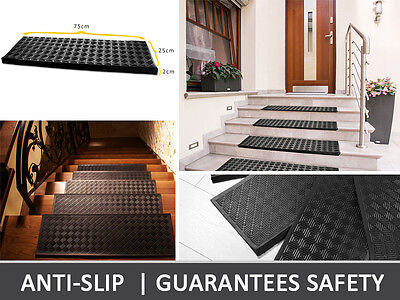 Rubber Gum Pad Tread Carpet Mat Anti Slip Floot Staircase Steps Safety Stair